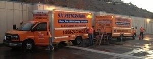 Water Damage and Mold Restoration Vehicle